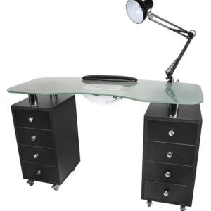 Dark Wood Manicure table 1