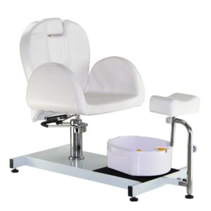 Pedicure Station with Foot Rest