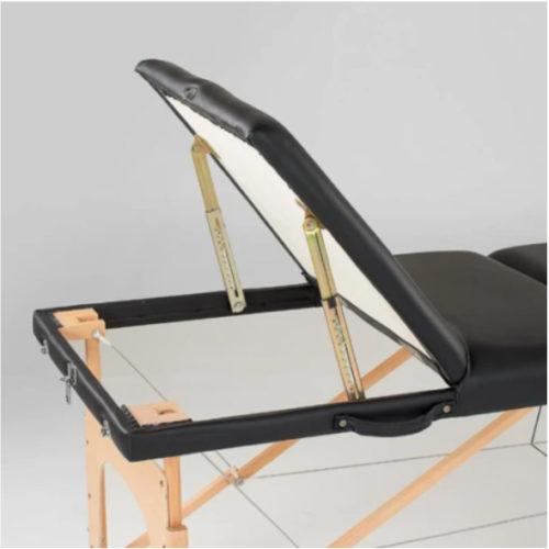 portable massage bed backrest