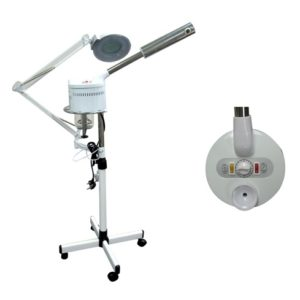 Facial Steamer and Magnifying Lamp Combo